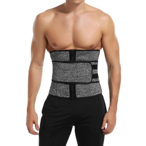 UK Hot Waist Trainer Cincher Sauna Sweat Belts Indoor Sport Body Shaper Exercise