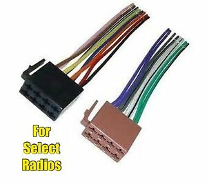 car stereo radio replacement wire harness plug for select planet audio  radios | ebay  ebay