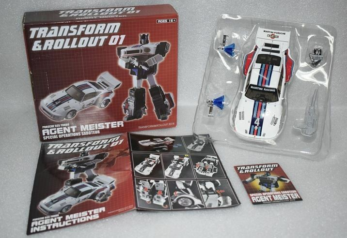 nuovo Transform e Rollout TnR TR01 Agent Meister MP JAZZ cifra In Stock