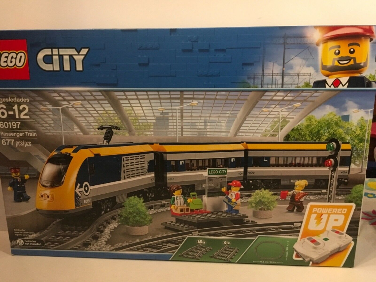 Lego City Passenger Train  60197  Nuovo Sealed