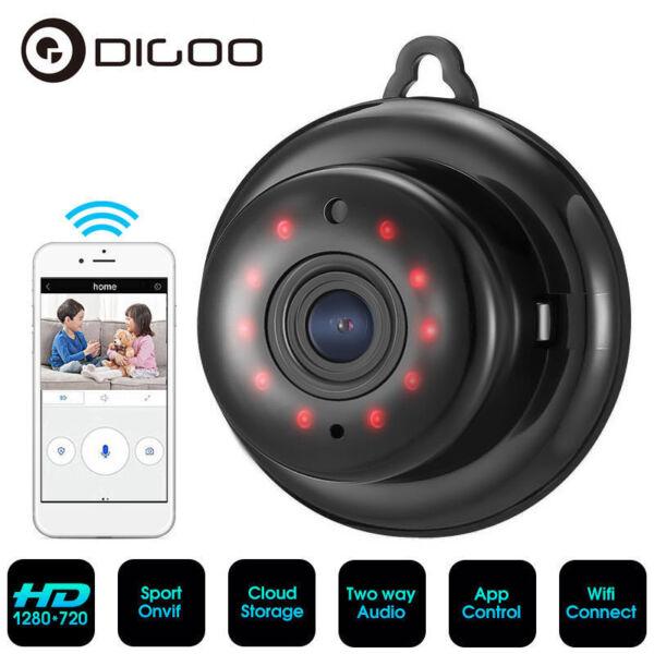 Digoo Smart WiFi IP Camera 720p P2p IR Night Vision ONVIF App Baby Monitor