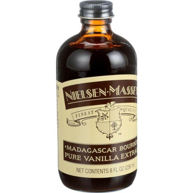 Nielsen-Massey Madagascar Bourbon Pure Vanilla Extract, 8 oz - NEW