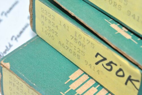 PHILIPS MPR24 49.9K 4pcs Non-Rohs 0.5/% 0.25W 25ppm 250V Resistor 49K9
