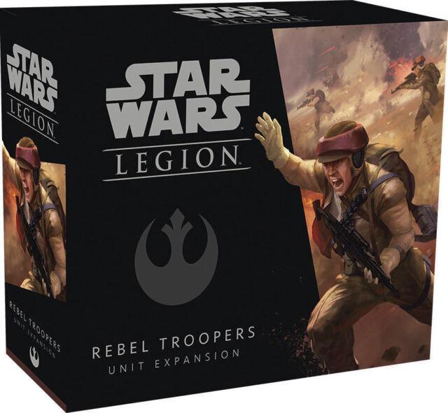 Star Wars Legion Rebel Troopers Unit Expansion SWL05 NIB Brand New