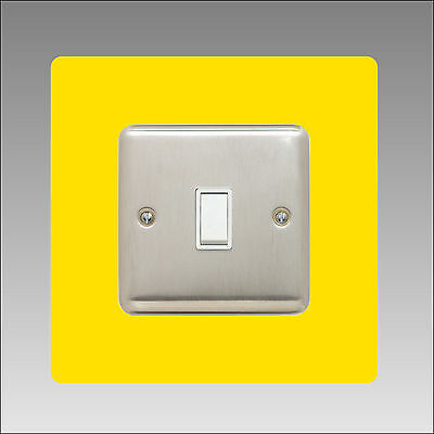 Light Switch Surround Finger Plate, Panel Cover, Gloss Acrylic