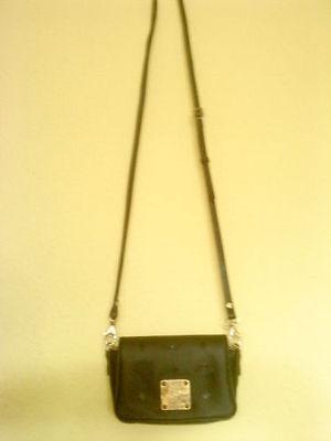 "Authentic  *MCM* - Shoulder Bag  ""MONIQUE"" in  black  ----  best used condition"