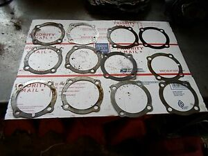 Original-8n-9n-2n-Ford-Tractor-Jubilee-Transmission-Metal-Shims-SET-OF-4