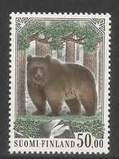 Finland 1989 Brown Bear 50m definitive--Attractive Animal Topical (719) MNH