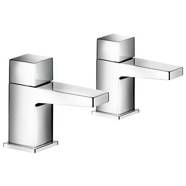 Mira honnêteté Chrome Chaud et Froid Lavabo bassin robinets 2.1815.002