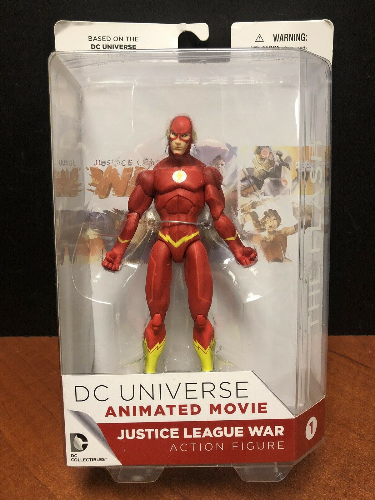 DC Universe Animated Movie Justice League War The Flash EM4231