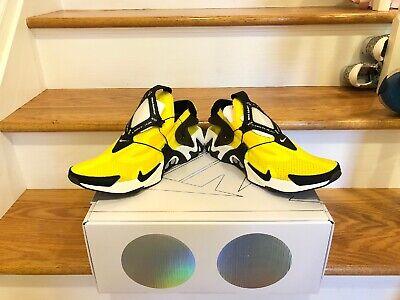 Nike Adapt Huarache Opti Yellow Men NEW