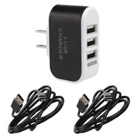 House Wall Outlet To Usb Socket Adapter Converter Smart Phone Fast Rapid Charger