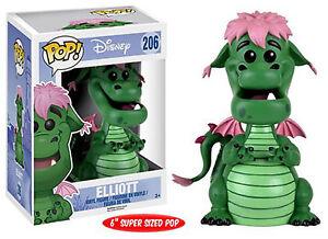 Funko-POP-Disney-Pete-039-s-Dragon-ELLIOT-THE-DRAGON-VINYL-FIGURE