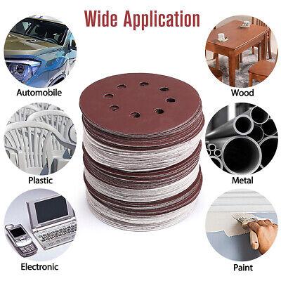 100PCS 5/'/' Wet Dry Sanding Discs 1000 Grit Premium Orbital Sandpaper Hook Loop