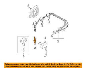 HYUNDAI OEM 03-06 Santa Fe 3.5L-V6 Ignition-Spark Plug 2741037100 | eBayeBay