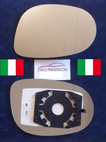 piastra vetro specchio FIAT BRAVO IDEA retrovisore SX  termico asferico sinistro