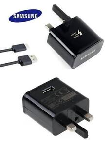 Details about Genuine Charger for Samsung Galaxy S8 S8 Plus EPTA20UBE +  Type C USB Data Cable
