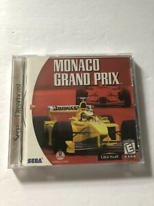 Monaco-Grand-Prix-Sega-Dreamcast-COMPLETE-Ubisoft-1999-TESTED