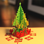 USA-3D-Pop-Up-Paper-Card-Christmas-Tree-Gift-Xmas-Greeting-Holiday-Lovely-Toys thumbnail 5