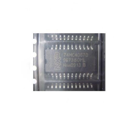 10 PCS 74hc4067 74hc4067D IC MUX//DEMUX 1X16 24SOIC