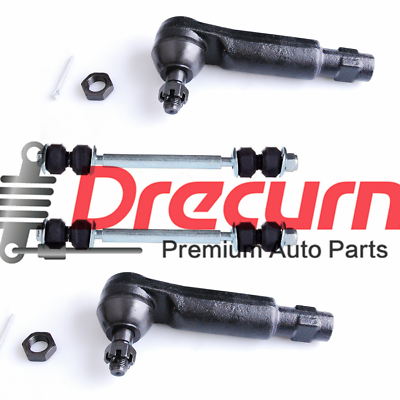 Inner Outer Tie Rod Lower Ball Joint Sway Bar Kit Mustang T-Bird Marquis Capri