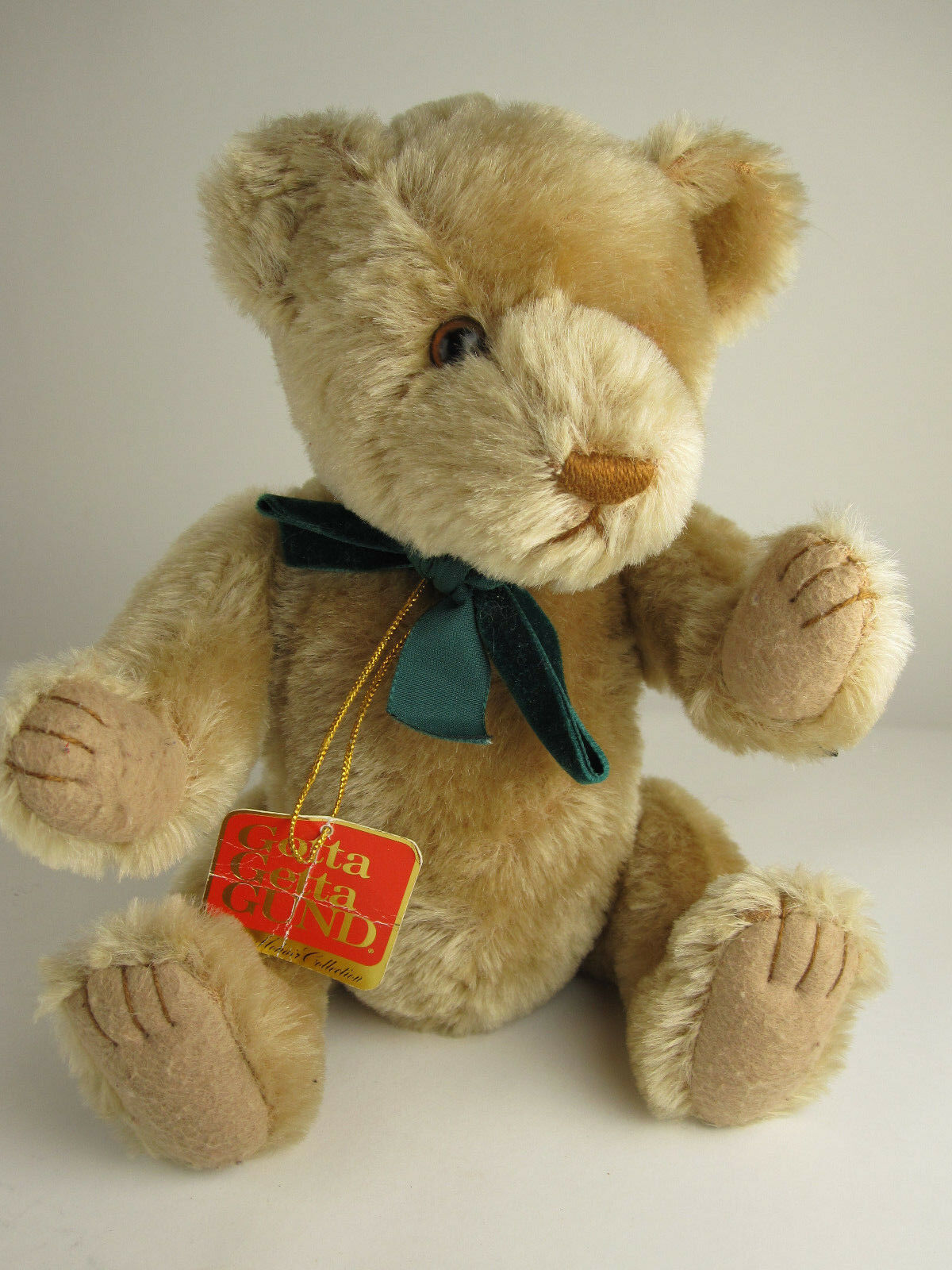 Gund Mohair Collection Jeremy Bearkin Plush Bear Growler Jointed 9655 w Tag Rare