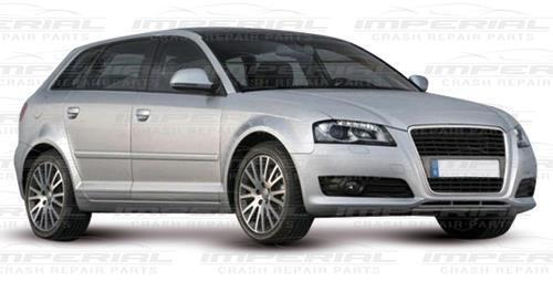 Drivers Side Front Wing Splash Dirt Guard Liner O//S Right 08-12 Audi A3