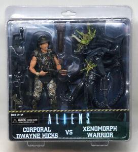 Aliens Corporal Dwayne VS Hicks Xenomor NECA Collectible 2 Pack Action Figures