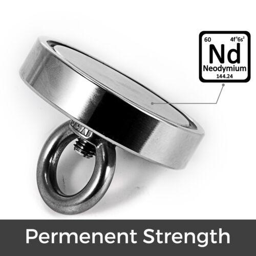 Fishing Magnet Neodymium Super Strong Retrieving Treasure Hunt 1322LBS Pull