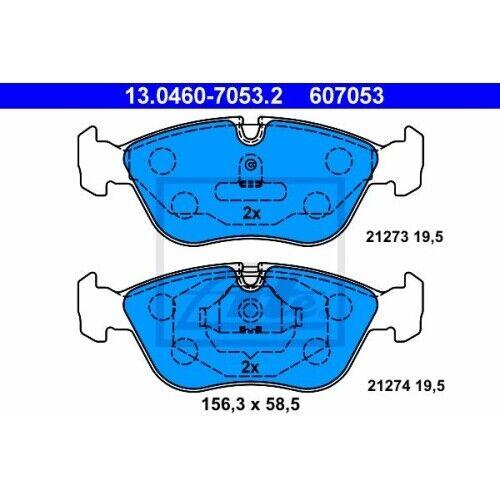 1 Bremsbelagsatz Scheibenbremse ATE 13.0460-7053.2 passend für VOLVO