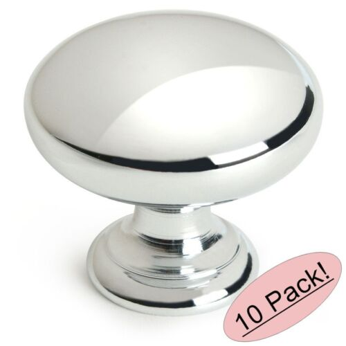 #4950CH *10 Pack* Cosmas Cabinet Hardware Polished Chrome Knobs