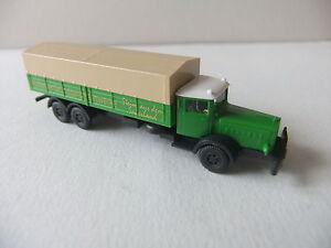 1-160-Wiking-Camion-Mercedes-L-10-000-a-l-039-echelle-N