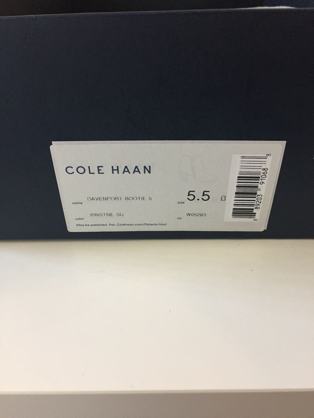 Cole Haan Livingston Livingston Livingston Bootie Donna  Round Toe Pelle Gray Ankle Boot 977242