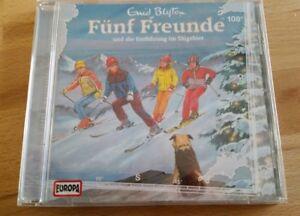 Fuenf-Freunde-und-die-Entfuehrung-im-Skigebiet-CD-Nr-108-Originalverpackt