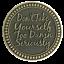 Rule 62 Premium Bronze AA//NA coin token medallion