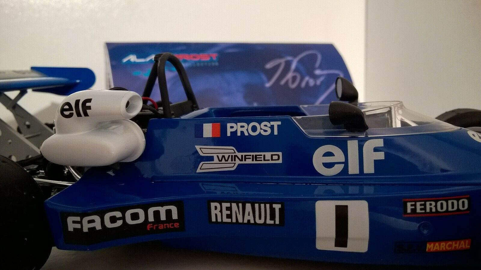 Alain Prost SOLIDO 1//43 G/én/érique Formule Renault MK 20 de 1977