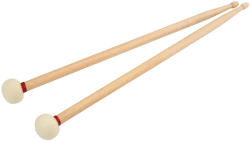 Chord Percussion Wood-Tip Maple Drum /& Mallet Sticks