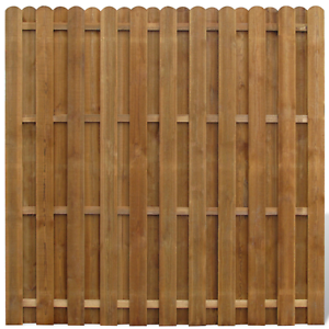 Wooden Fence Panel Vertical Hit amp Miss Garden Privacy Stylish Decor Brown Wood - <span itemprop='availableAtOrFrom'>London, United Kingdom</span> - Returns accepted Most purchases from business sellers are protected by the Consumer Contract Regulations 2013 which give you the right to cancel the purchase within 14 days after the day y - London, United Kingdom