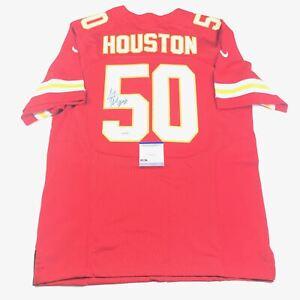 Details about Justin Houston Signed Jersey PSA/DNA Kansas City Chiefs Autographed