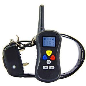Remote Vibration Shock Training Electronic Dog Collar for Large & Medium Dog