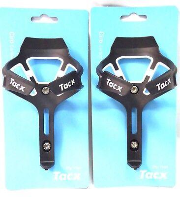 TACX CIRO MATTE BLACK BICYCLE WATER BOTTLE CAGE