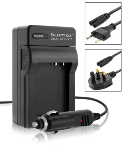 Camera Battery Mains and Car Charger with UK EU Plugs for GoPro AHDBT-401 Hero 4