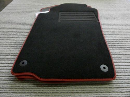 $$$ Original Lengenfelder Fußmatten für Peugeot 306 CC Cabrio Rand NUBUKBAND