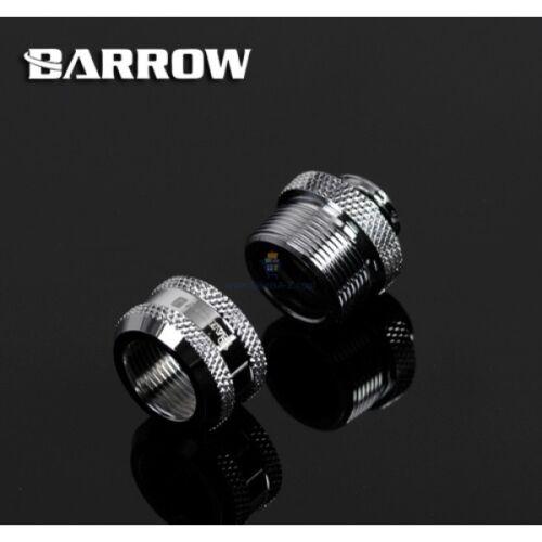 Chrome Barrow 16mm rigid fitting V4-20pcs