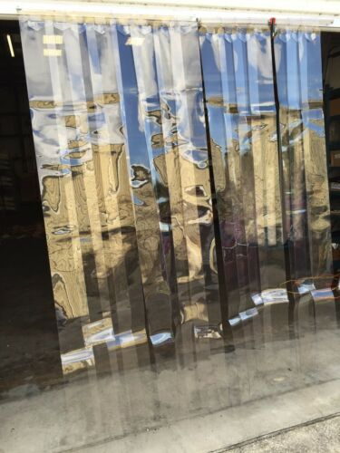 Vinyl Strip Door Air Curtain Flex Shield Cooler//Freezer 65006V 15 Strips