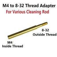 Brass M4 To 8-32 Thread Converter Adapter For Cleaning Rod