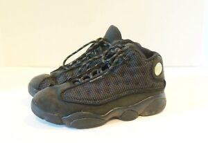 quality design 36d74 55a8a Image is loading Nike-Air-Jordan-XIII-13-Retro-Black-Cat-