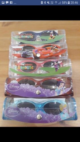 DISNEY CHARACTER SUNGLASSES BRAND NEW IN CASE