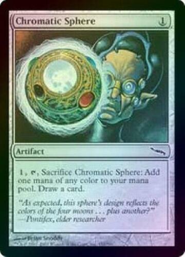 Chromatic Sphere Foil New MTG Mirrodin Magic