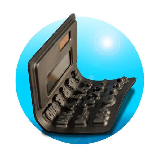 DIGITAL SOLAR Tisch Taschenrechner Tischrechner FLEX Wiggle Tasten RECHNER